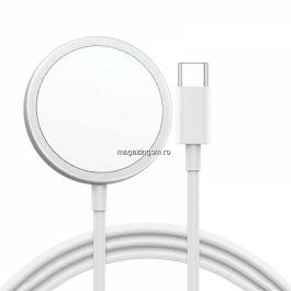 Incarcator wireless Apple MagSafe MHXH3ZM/A, Original, White