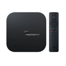 Mediaplayer Xiaomi MI TV Box S, 4K, Control Voce, Negru