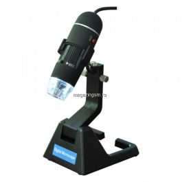 Microscop digital USB, focus 15-40 mm, 8 x LED, 600X