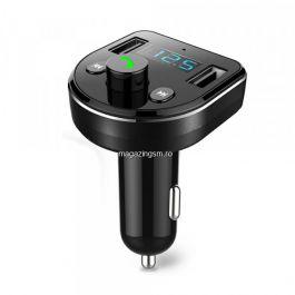 Modulator FM Bluetooth JELLICO CM-03 USB Negru