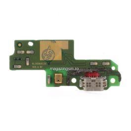 Placa Circuit Cu Conector Incarcare Si Microfon Huawei P9 Lite G9 Lite Honor 8 Smart Originala
