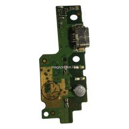 Placa Circuit Cu Conector Incarcare Si Microfon Huawei Y6 II Originala