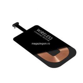 Receptor Sticker Incarcare Wireless Telefoane Cu Port TYPE C