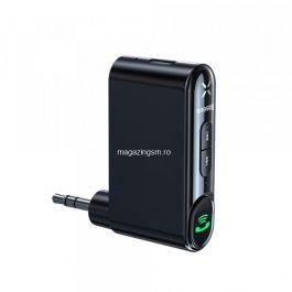Receptor wireless Jack Baseus, adaptor Bluetooth Jack, negru, WXQY-01