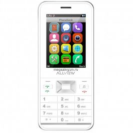 Resigilat Telefon Mobil Allview M7 Start Alb