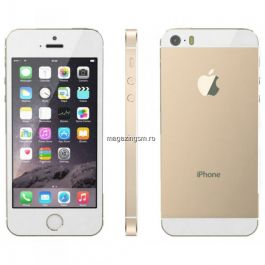 RESIGILAT Telefon Mobil Apple iPhone 5s 16GB Auriu Calitate B