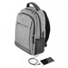 Rucsac laptop Tellur Companion Cu port USB 15,6 inchi Gri