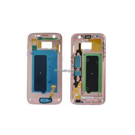 Sasiu Carcasa Mijloc Samsung Galaxy S7 G930 Original Roz
