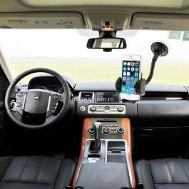 Suport auto 2 in 1 iPhone 5c 47-100 mm Negru