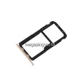 Suport Sim Si Card Huawei Mate 20 Lite Auriu