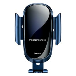 Suport Telefon Auto Samsung iPhone Huawei Asus Nokia Allview BASEUS Albastru