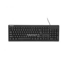 Tastatura cu fir Tellur Basic US USB negru