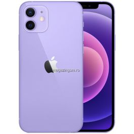 Telefon mobil Apple iPhone 12, 64GB, 5G, Purple