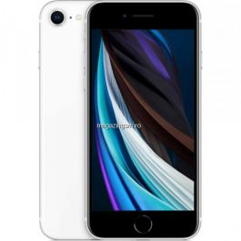 Telefon mobil Apple iPhone SE 2020, 128 GB, ALB