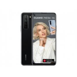 Telefon mobil Huawei P40 Lite, Dual SIM, 128GB, 6GB RAM, 5G, Midnight Black