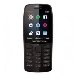 Telefon mobil Nokia 210, Dual SIM, 2019, Black