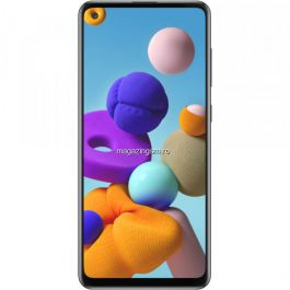 Telefon mobil Samsung Galaxy A21s, Dual SIM, 128GB, 4GB RAM, 4G, Black
