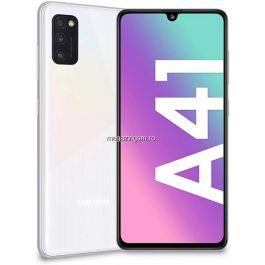 Telefon mobil Samsung Galaxy A41, Dual SIM, 64GB, 4G, Prism Crush White IMEI: 351910574354267