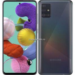 Telefon mobil Samsung Galaxy A51, Dual SIM, 128GB, 4GB RAM, 4G, Prism Black