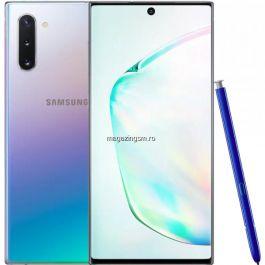 Telefon mobil Samsung Galaxy Note 10 Dual SIM 256GB 8GB RAM 4G Aura Glow