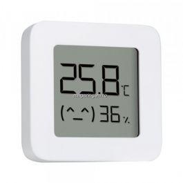 Termometru Xiaomi Mijia, Bluetooth, Ecran LCD Alb