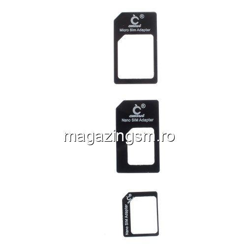 adaptor nano sim la micro sim standard sim iphone 6s 6 plus 5s 5c 5 4s 4 ipad pret. Black Bedroom Furniture Sets. Home Design Ideas