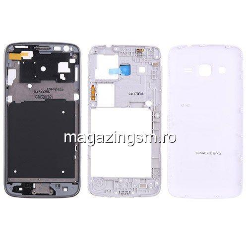 6f7f241b215 Carcasa Completa Samsung Galaxy Express 2 SM-G3815 Originala Alba Pret