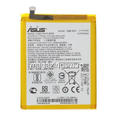 Acumulator Asus Zenfone 3 Max C11P1609 Original