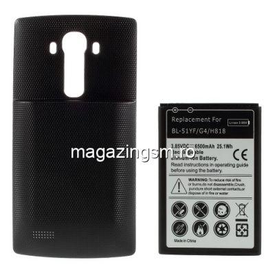 Acumulator De Putere LG G4 H818 H815 Cu Capac Baterie Spate Negru