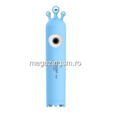 Acumulator Extern Huawei Samsung HTC Nokia iPhone BlackBerry Sony iPad iPod LG Power Bank 2600 mAh CAGER T11b Albastru
