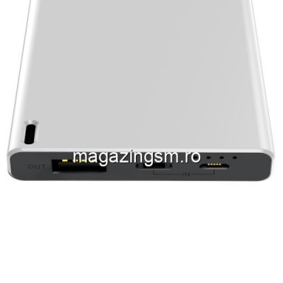 Acumulator Extern Samsung Galaxy S10 Power Bank 10000mAh BASEUS Alb