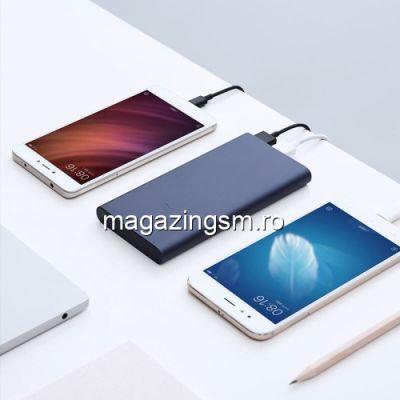 Acumulator Extern iPhone iPad Samsung Huawei Xiaomi Power Bank Dual USB 10000mAh Negru