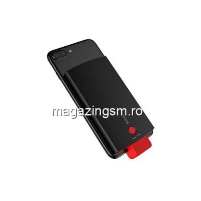 Acumulator Extern iPhone X 8 8 Plus 7 7 Plus 6s Plus 6s 6 Plus 6 5s 5c 5 Power Bank 4000mAh BASEUS Series Negru
