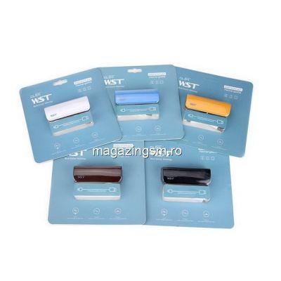 Baterie Externa Samsung Galaxy Note 2 2600mAh WST Alb Matuit