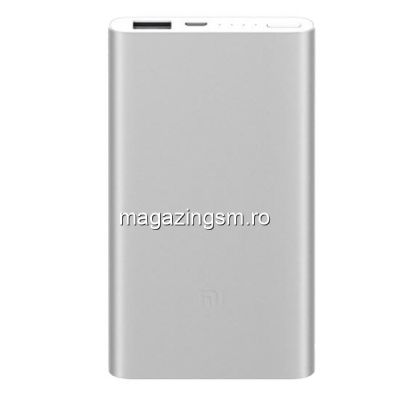 Acumulator Extern Xiaomi Mi Power Bank 2 5000mAh Silver