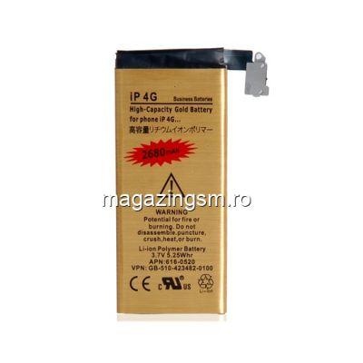 Acumulator De Putere iPhone 4 2680 mAh Gold