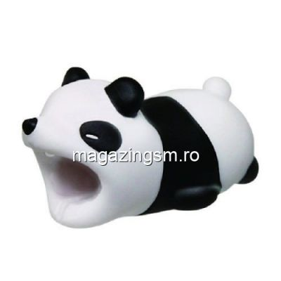 Adaptor Tip Protectie Cablu De Date iPhone Samsung Universal Cartoon Panda