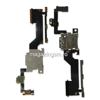 Banda Flex Butoane Laterale Si Slot Card Memorie HTC One M9 Plus