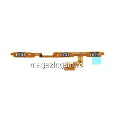 Banda Flex Buton Power On Off Si Volum Samsung Galaxy A10 A105