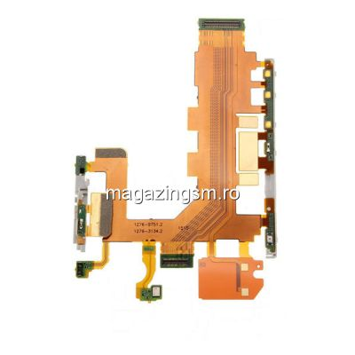 Banda Flex Buton Power On Off Si Volum Sony Xperia Z2 D6502 D6503 D6543 L50t L50u