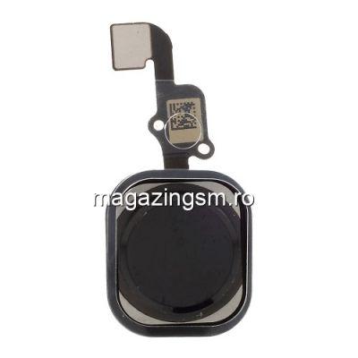 Banda Flex Cu Buton Meniu iPhone 6s Plus OEM Negru