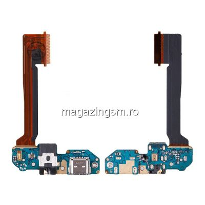 Banda Flex Cu Conector Incarcare Microfon Si Jack Audio HTC One M9 Plus
