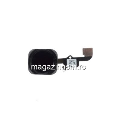 Banda Flex iPhone 6 Plus Cu Home Buton Originala Negru