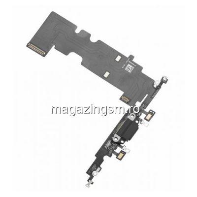 Banda Flex iPhone 8 Plus Cu Conector Incarcare si Microfon Neagra