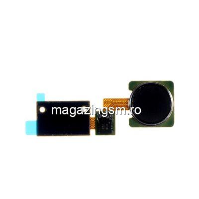 Banda Flex LG V10 Cu Buton Meniu / Senzor Amprenta Digitala Original Negru