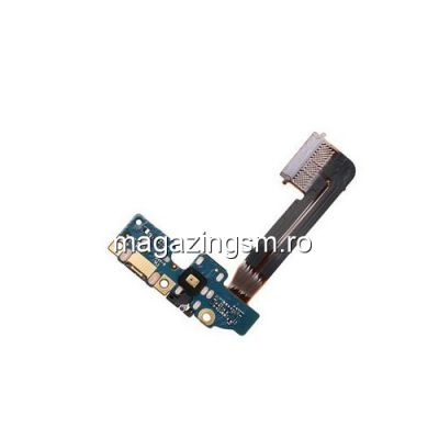 Banda Flex Placa Circuit Conector Incarcare, Jack Audio si Microfon HTC One M9