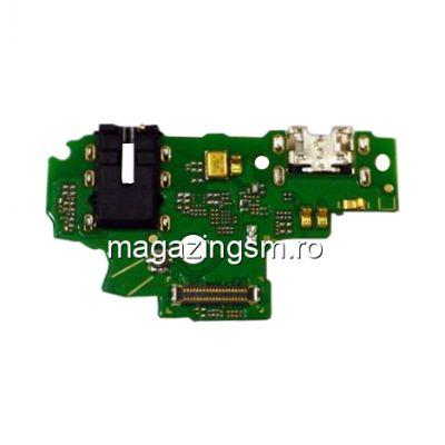Banda Flex Placa Circuit Conector Incarcare  Jack Audio Si Microfon Huawei P Smart