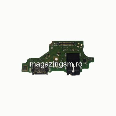 Banda Flex Placa Circuit Conector Incarcare Jack Audio Si Microfon Huawei P20 Lite