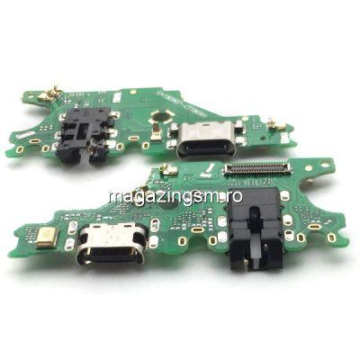 Banda Flex Placa Circuit Conector Incarcare Microfon si Jack Audio Huawei Mate 20 Lite