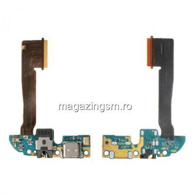 Banda Flex Cu Conector Incarcare Mufa Audio Si Microfon HTC One M8s
